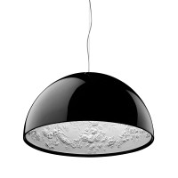 Skygarden Eco Pendelleuchte, Ø: 90 cm, schwarz glänzend