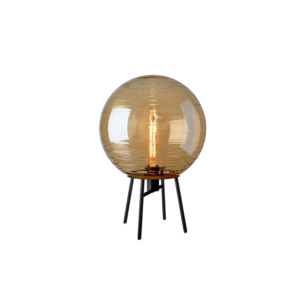 Sompex Lantaren Tischleuchte, Glas: amber (goldbraun)