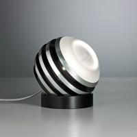 Bulo Tischleuchte, Aluminium / schwarz