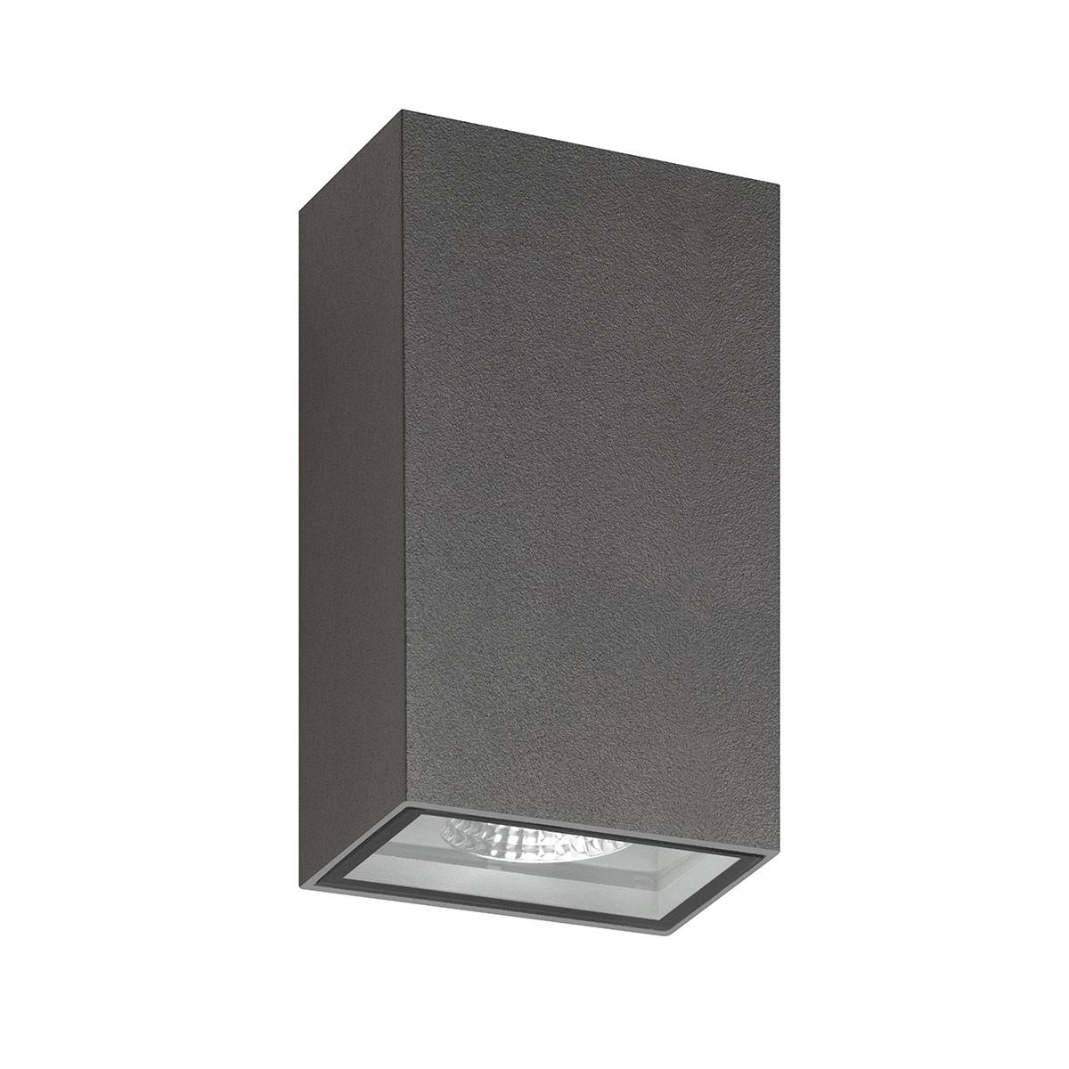 LCD Außenleuchten 5010/5011 Up & Down LED Wandleuchte, graphit