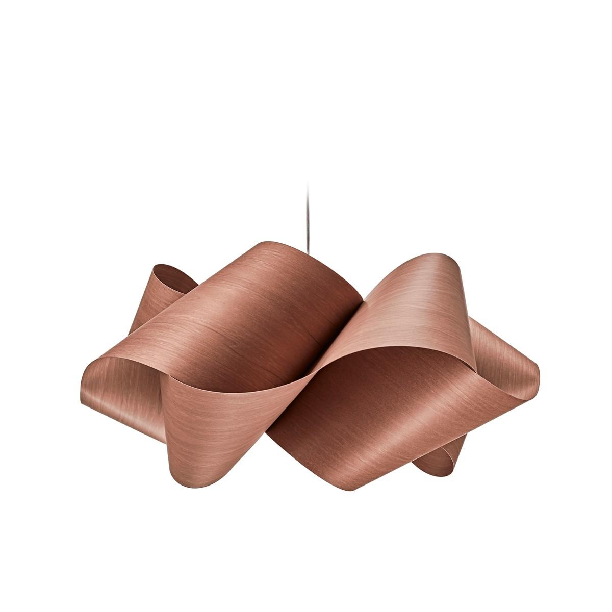 LZF Lamps Swirl Small Pendelleuchte, schokolade
