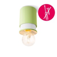 Klein AG Twister Colours Wand- / Deckenleuchte, hellgrün