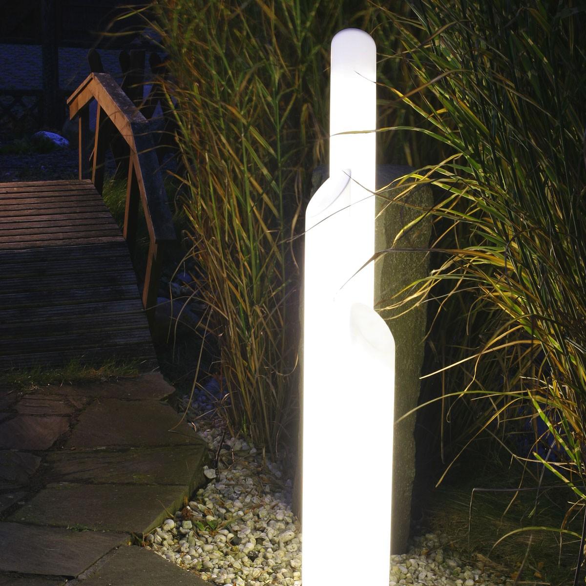 Epstein-Design Light Star Trio Stehleuchte IP45, Höhe: 140 cm