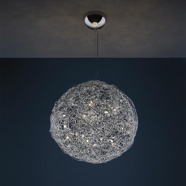 Catellani & Smith Fil de Fer Pendelleuchte, Ø: 50 cm, Aluminium
