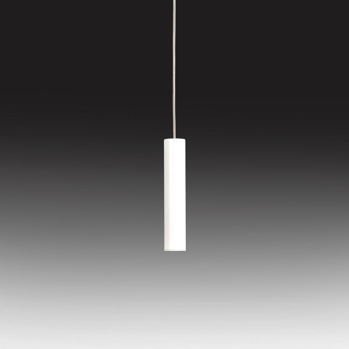 Milan Tub LED Pendelleuchte, weiß lackiert