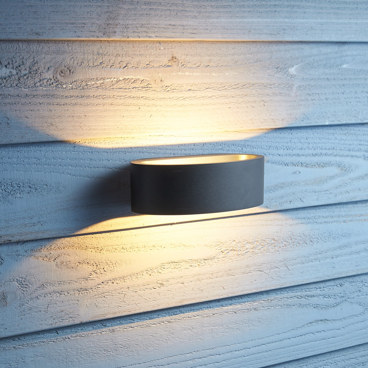 MyLight Saarbrücken LED Wandleuchte, anthrazit