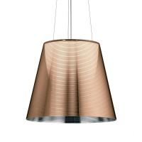 KTribe S Pendelleuchte, S3, Ø: 55 cm, bronzefarben metallisiert