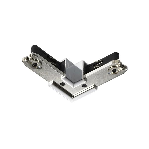 Bruck Duolare 230 V 90° Verbinder, chrom
