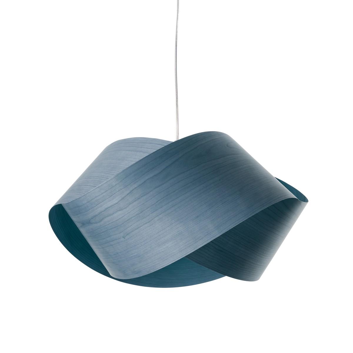 LZF Lamps Nut Pendelleuchte, blau