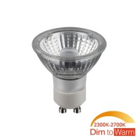 Civilight HALIGHT LED Reflektor GU10 6 W, Dim-to-Warm, 36° Abstrahlwinkel