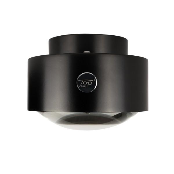 Top Light Puk Maxx Outdoor Plus LED, schwarz lackiert, Linse klar