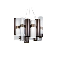 La Lollo M Suspension, pewter/white (Zinn/weiß)