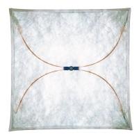 Ariette Wand- / Deckenleuchte, 130 x 130 cm, Stoff